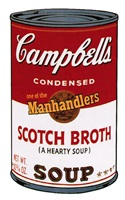 campbell's soup ii: scotch broth [ii.55] by andy warhol
